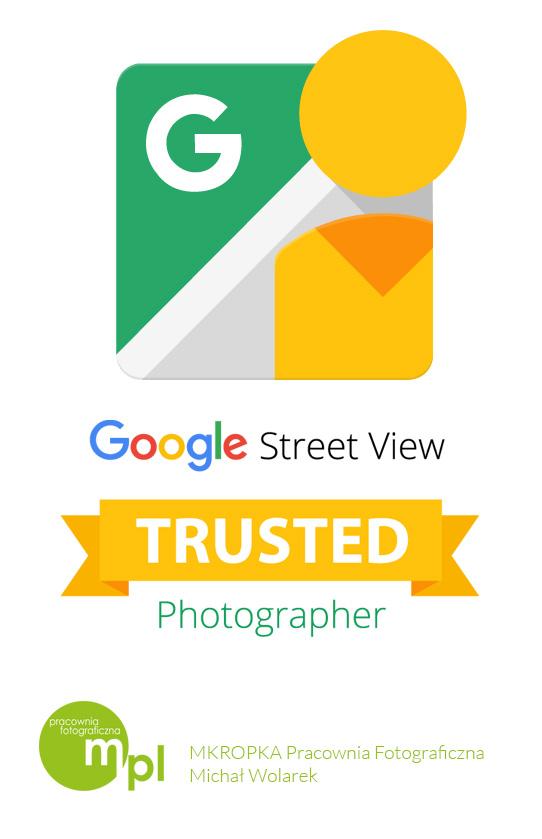 mkropka street view google certyfikat michał wolarek fotograf google google maps wirtualny spacer